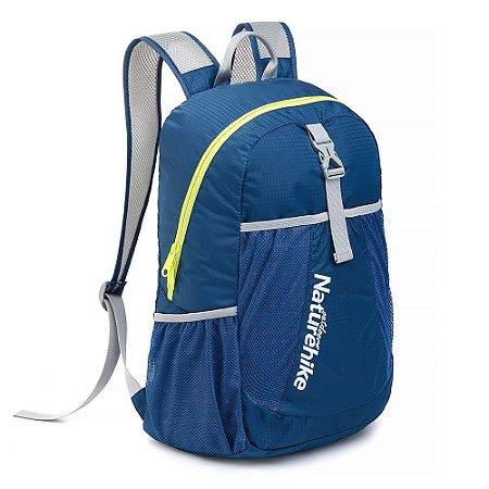 Mochila Naturehike Folding Bag 22L - Compactável - Azul