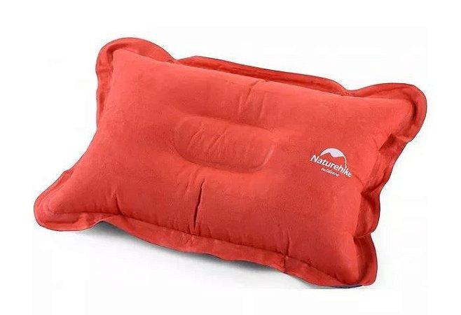 Travesseiro Inflável Naturehike Pillow - Laranja
