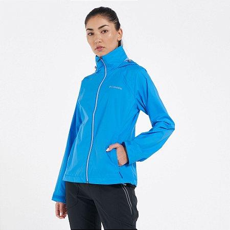 Jaqueta Impermeável Columbia Feminino Switchback™ III Azul Frost