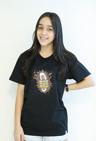 Camiseta Pegada Unissex - Preta