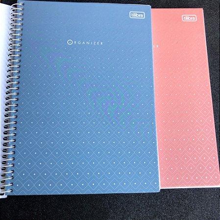 Caderno profissional organizer - Tilibra - 80 folhas