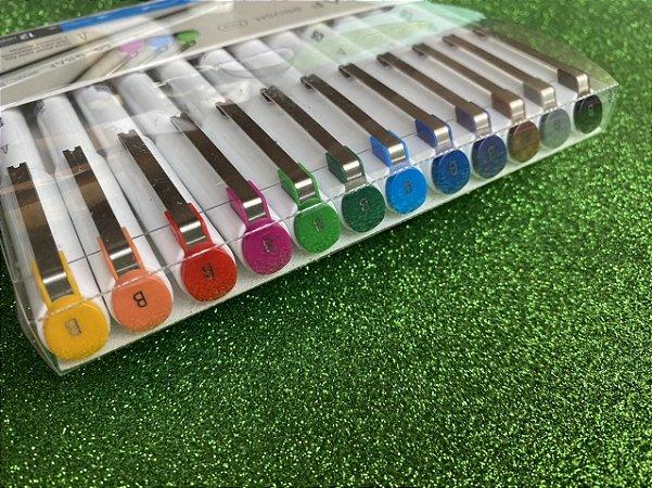Brush Pen Graf Cis - Estojo com 12 und