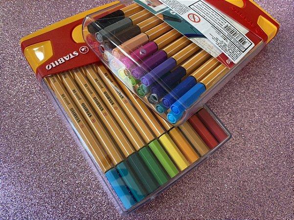 STABILO - Point 88 - Estojo com 20 cores - Color Parede