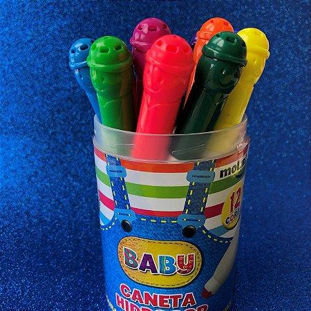 Hidrocor BABY copo com 12 cores Molin