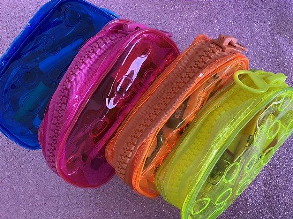DAC - estojo bubble - cores neons