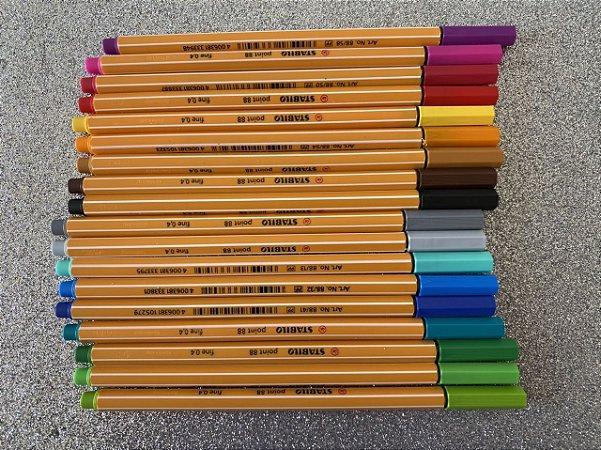 Stabilo point88 - as melhores canetas do mundo!