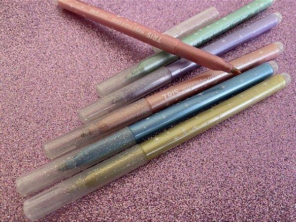 Caneta Hidrocor Pastel Glitter - estojo com 6 unidades