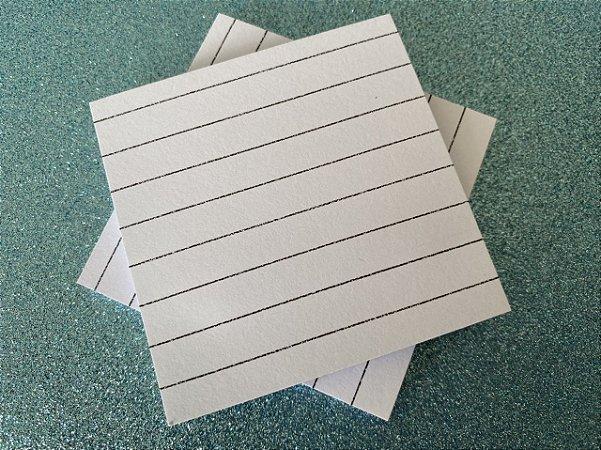 Bloco Adesivo BRW Branco Pautado - 50 folhas
