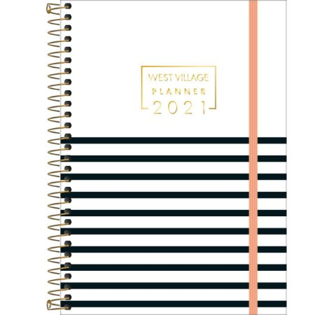 Planner Espiral West Village 2021 13x18,8cm