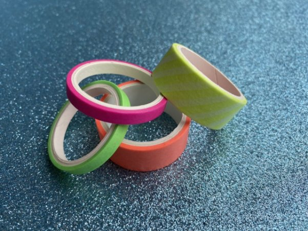 Washi tape - neon - BRW