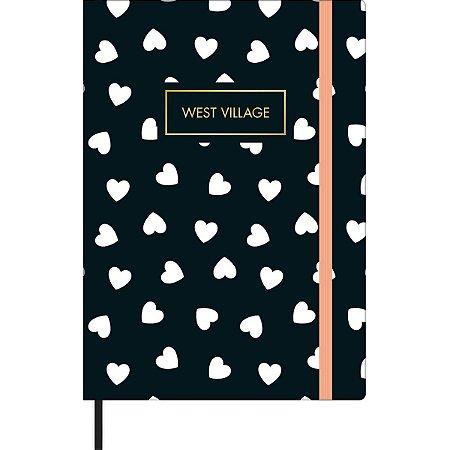 Caderneta pontilhada - West Village - 80 folhas - Tilibra - tamanho M