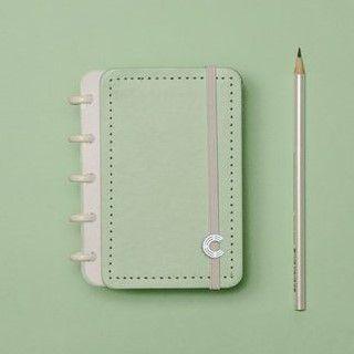 Caderno Inteligente Verde Pastel - Inteligine