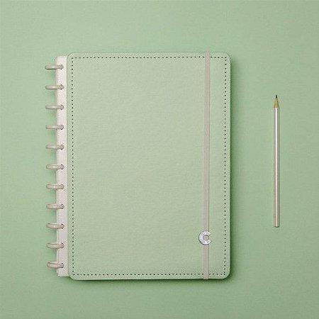 Caderno Inteligente Verde Pastel - Médio