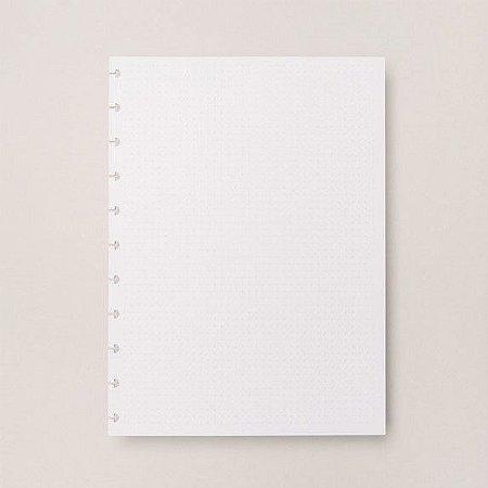 Refil Pontilhado Médio - Caderno Inteligente