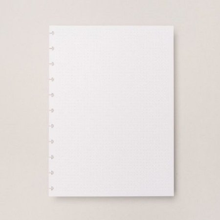 Refil Pontilhado Grande - Caderno Inteligente
