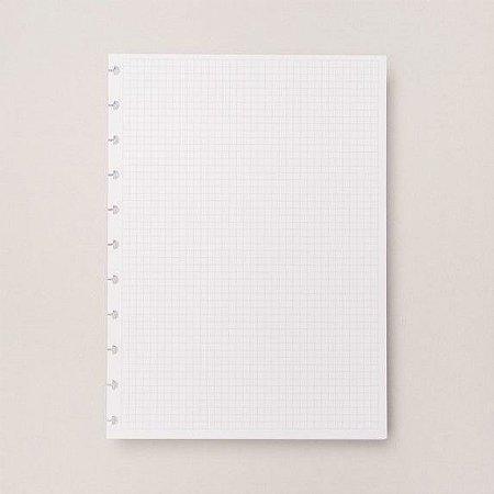 Refil Quadriculado Grande - Caderno Inteligente