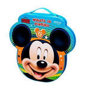 Maleta de pintura Mickey Mouse 70 itens