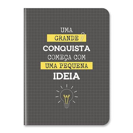 Caderneta Pontada Preto/Amarelo - Cartões Gigantes