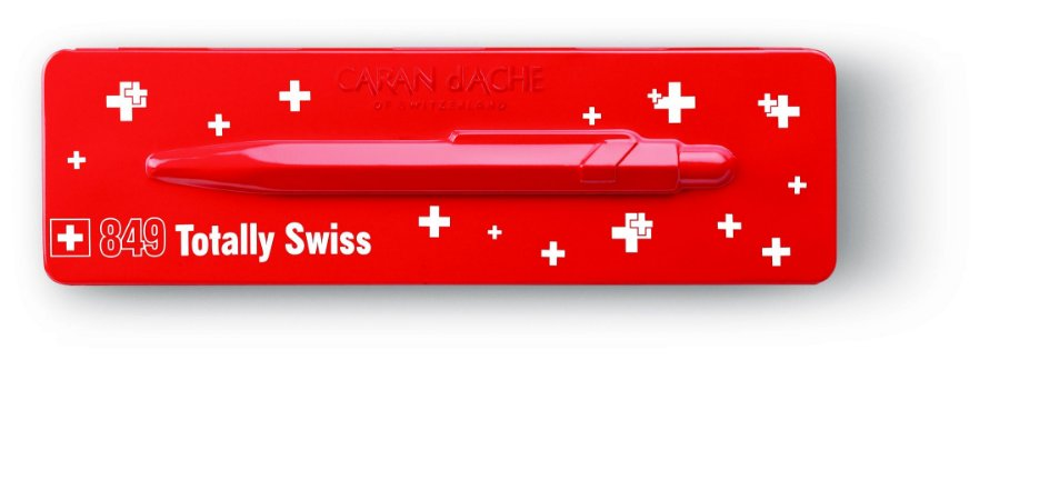 Caneta Caran d'Ache 849 Pop Line Totally Swiss
