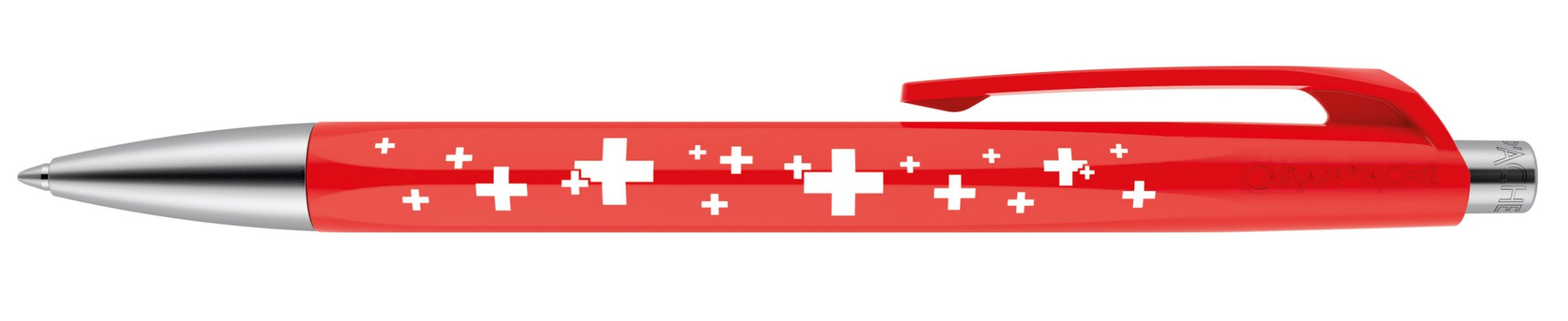 Caneta Caran D'Ache 888 Infinite Swiss Cross
