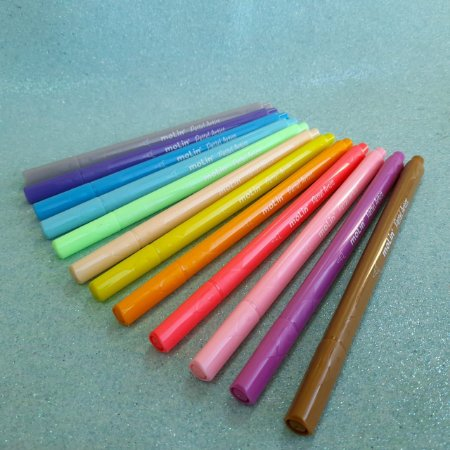 Caneta Hidrocor Pastel Artist - Estojo com 12 cores - Molin