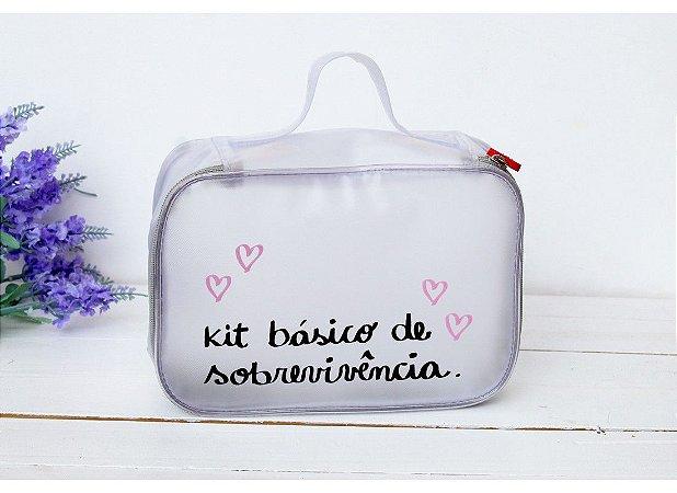 Maleta Estojo Kit Básico de Sobrevivência - Papelote