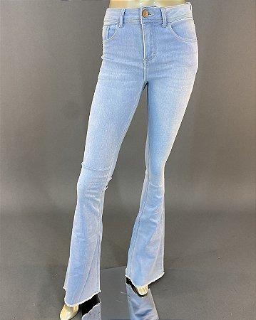 Calça Jeans Flare Midi Skinny Boot John John