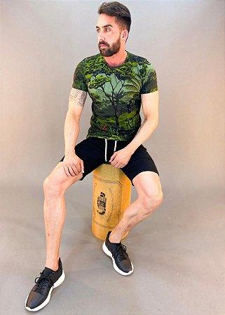 Camiseta Estampada Masculina Colcci