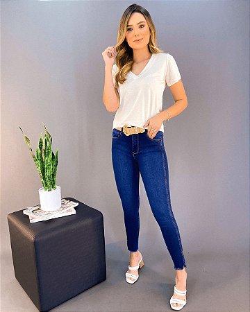 Calça Jeans Médio Feminina Lady Rock