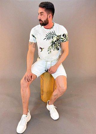 Bermuda Sarja com Cordão Masculino