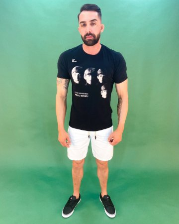 Camiseta Beatles Masculina