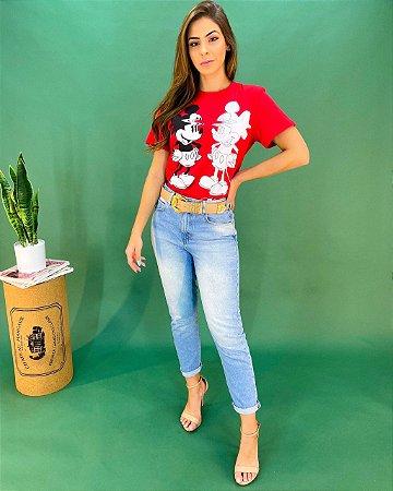 T-shirt Colcci Mickey Feminina