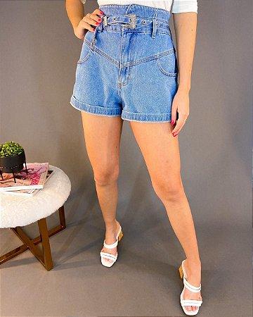 Shorts Jeans Colcci com Cinto Feminino