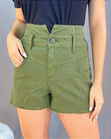 Shorts Colcci Cos Alto Feminino