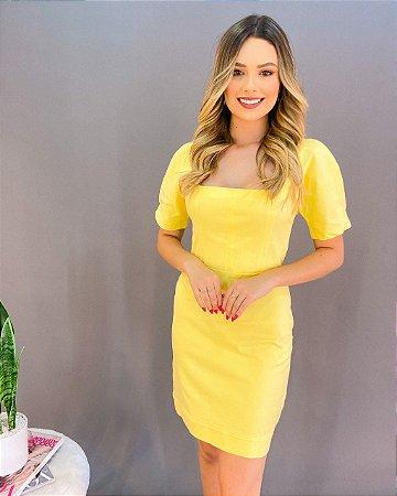 Vestido Colcci Gola Quadrada Feminino