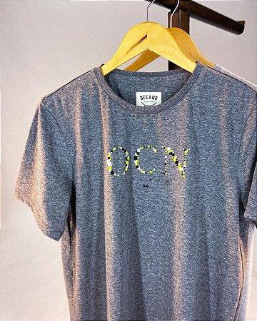 Camiseta Oceano Logo Masculina