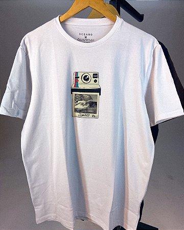 Camiseta Oceano Maquina Masculina
