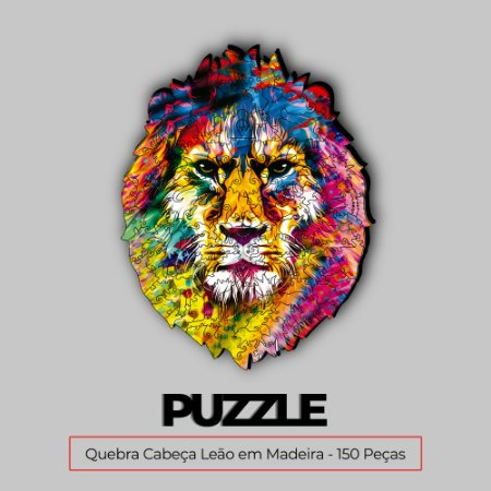 Puzzle Leão