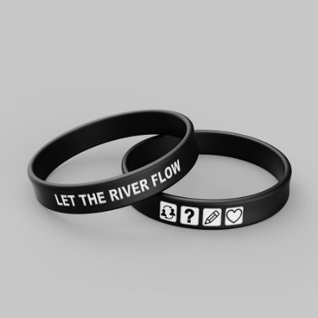 Pulseira LET THE RIVER FLOW
