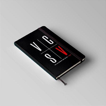 Caderno de Anotações - Vá Cuidar da Sua Vida - Pablo Marçal