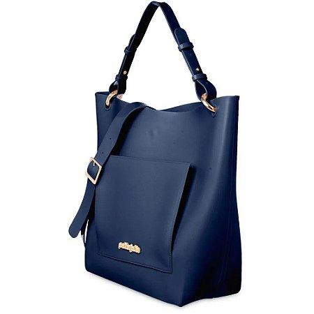 Bolsa Feminina Petite Jolie City Azul Marinho PJ5012