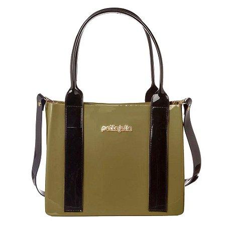 Bolsa Feminina Petite Jolie Stella Verde Militar PJ5014