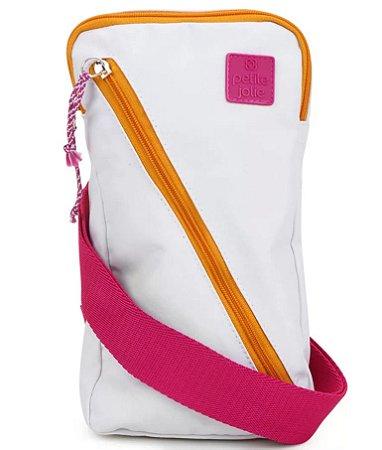 Shoulder bag Petite Jolie Branca e Pink PJ5008
