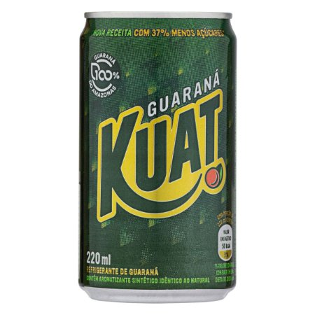 Guaraná Kuat LATA 220 ml CX 12