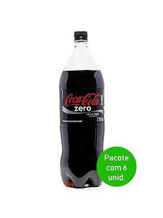 Coca cola Zero Açúcar 2L  PACOTE COM 06