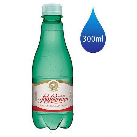Água Mineral sem gás São Lourenço Garrafa 300ml sem gás