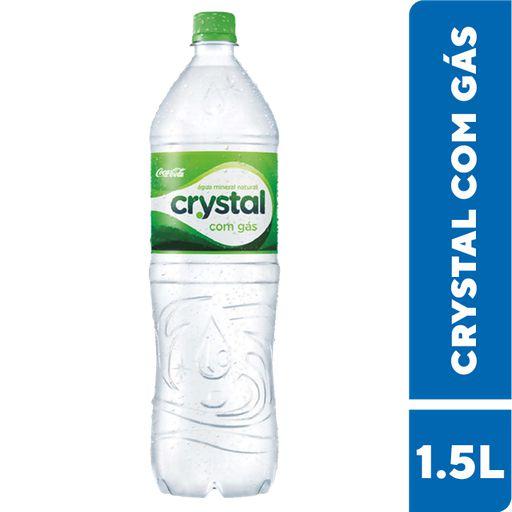 Água Mineral Crystal 1,5L com gás