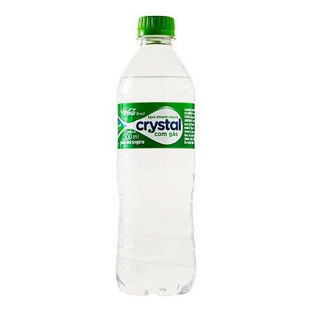 Água Mineral Crystal 500ml C/gás cx12