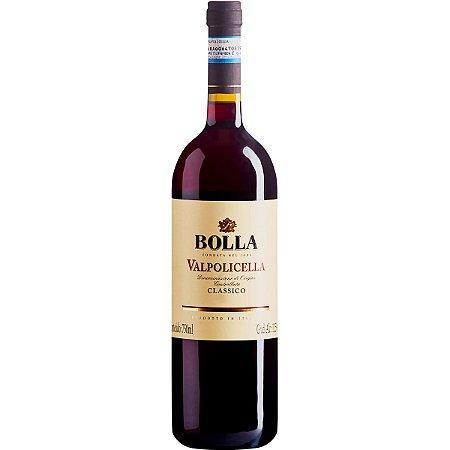 Vinho Italiano Bolla Valpolicella  Classico Seco Garrafa 750ml