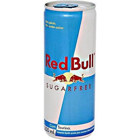 Energético Red Bull Sugar Free 250ml-Cx24